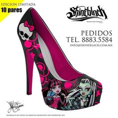 I found 'Shine Black Mexican Art Clothing Shoes Monster High' on Wish, check it out!
