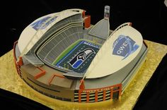 Qwest Stadium (Seattle Seahawks): Mike's Amazing Cakes, facebook