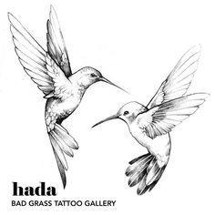 Kunst Tattoos, Body Art Tattoos, Small Tattoos, Sleeve Tattoos, Fox Tattoos, Tree Tattoos, Watch Tattoos, Tattoo Hummingbird, Hummingbird Drawing