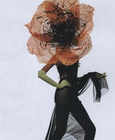 """The Stuff of Fantasy"", Philip Treacy by Irving Penn"