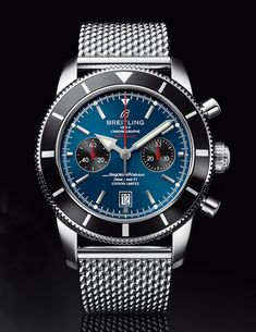 La Cote des Montres : La montre Breitling Superocean Héritage Chronographe édition limitée