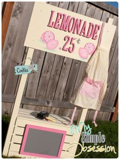 My Simple Obsession: How to Build a Lemonade Stand