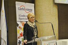 Claudia Pepoli, direttrice Confidi Lazio