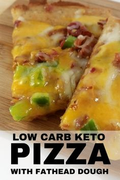 Low Carb Keto Pizza With Fathead Dough