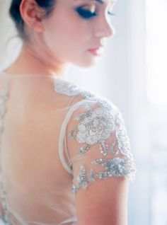 Glamorous gown: http://www.stylemepretty.com/little-black-book-blog/2015/03/24/organic-elegant-paris-wedding-inspiration/ | Photography: Le Secret D'Audrey - http://www.lesecretdaudrey.com/