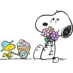 Easter snoopy. Best images in