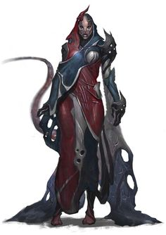 A female Iz'Kal from FAITH: the Sci Fi RPG #RPG #SCIFI #Boardgame #Games