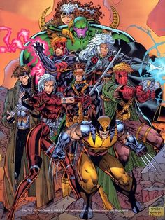 My Favorites Tangle X-Men the WildC.s - My favorite Marvel team that helped jumpstart Jim Lee's career that he redesigned and made popular with the team originally create and designed by Jim Lee from scratch when he co-pioneered Image Comics. Comic Book Artists, Comic Book Characters, Comic Book Heroes, Marvel Characters, Comic Artist, Comic Character, Comic Books Art, Hq Marvel, Marvel Comics Art