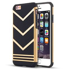 iPhone 6s Case, LEOV Anti-slip Shockproof Armor iPhone 6s Protective Case Ultra Slim Fit Non-slip Grip Rubber Bumper Case Cover for Apple iPhone 6 & iPhone 6s 4.7 inch - Gold Chevron Pattern LEOV http://www.amazon.com/dp/B01A0S2O8C/ref=cm_sw_r_pi_dp_oYwMwb10X6S7M