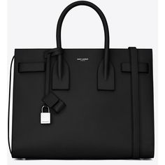 Saint Laurent Classic Small Sac De Jour Bag ($2,215) ❤ liked on Polyvore featuring bags, handbags, shoulder bags, sacs, saint laurent, leather purse, 100 leather handbags, yves saint laurent shoulder bag, leather key ring and genuine leather handbags