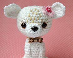 Crochet pattern - Chihuahua  by VendulkaM, amigurumi, crochet toy/digital pattern, DIY, pdf