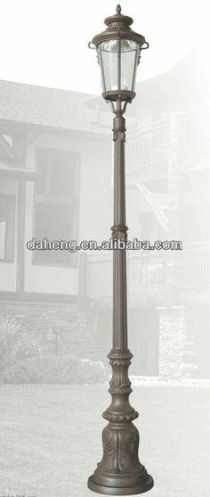 architectural street lighting | Galvanized Steel Decorative Street Lighting Pole, View street lighting ...