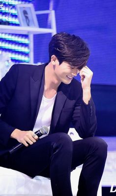 170702ParkHyungsik  First fan meeting korea... love his shy way..sweet . hemmm