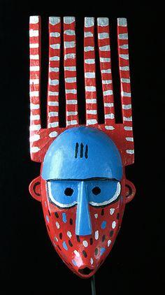 New Bamana Bambara mask from Mali, African masks