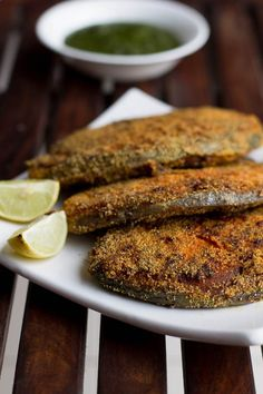 Easy Rava Fish Fry recipe restaurant style made at home. The fish is crispy from the exterior and succulent from within. The taste is tangy, spicy and the