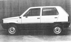 OG | Emelba Pandita | Fiat Panda / Seat Marbella five-door prototype designed by the spanish coachbuilder Emelba