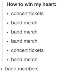 I swear, if you get me band members I'd love you forever.
