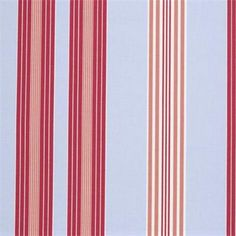 Children's Blackout Roman Blinds from the Stripes Collection in Lulu Stripe Powder Blue Flower Curtain, Curtain Fabric, Fabric Decor, Blue Roman Blinds, Orla Kiely Fabric, Childrens Curtains, Clarke And Clarke Fabric, Blinds Design, Cotton Curtains