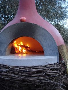 Nido Pizza Oven @ Scribe Winery, designed by Mark Rogero of Concrete Works and Nico Monday of The Market Restaurant/Short and Main.