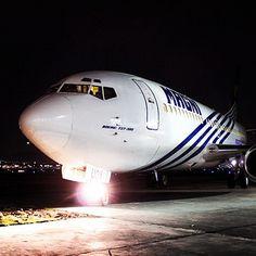 ¡Buenas noches, que sueñen con aviones #Magnicharters! #Boeing737 #Airplane