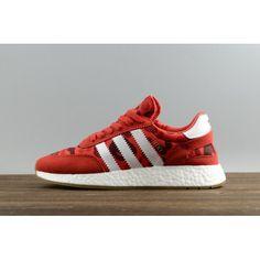 check out 2ced1 e4a87 Cheap Adidas Iniki Runner - New adidas Originals Iniki Runner Boost Red  White Gum Mens Shoes Cheap