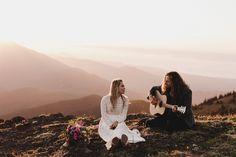 Boho mountain elopement inspiration | Image by Noelle Johnson