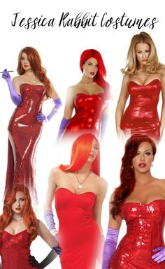 Jessica Rabbit Costume - click the PIN to get 'em!