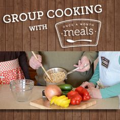 How To Build a Group Cooking Community | OAMC from Once A Month Meals