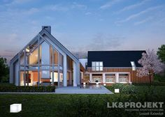 Dom, projekty domów gotowy, domy jednorodzinne projekty, dom, projekty domów – LK & PROJEKT LK&1145