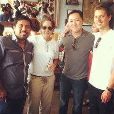 We're excited for this Sunday's Bon Appetit Grub Crawl with Sang Yoon and @PiccaP @ Son of a Gun Restaurant