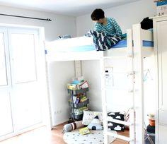 Kids, Interior, Hochbett De Breuyn Kindermöbel, Abendritual bei sich veränderndem Schlafverhalten, Zubettgehritual, Kinderzimmer, Kidsroom via LifestyleMommy.de