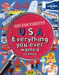 """Not For Parents USA by Lonely Planet  """"be inspired by #kidlit"""""""