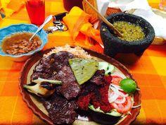 un riquisimo platillo de la extensa variedad gastronomica de Oaxaca