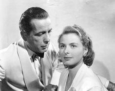 "7 Best Classic Ingrid Bergman Movies: ""Casablanca"" (1942) Humphrey Bogart, Casablanca Movie, Casablanca 1942, Great Films, Good Movies, Ingrid Bergman Movies, Classic Hollywood, Old Hollywood, Hollywood Stars"