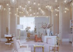 not so much the room - but the light fixtures.. LOVING the lights.. i bet it looks like fireflies at night!