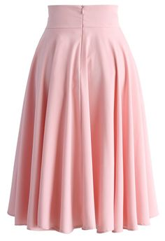 Creamy Pleated Midi Skirt in Pink - Skirt - Bottoms - Retro, Indie and Unique Fashion Modest Fashion, Unique Fashion, Fashion Dresses, Modest Skirts, Cute Skirts, Pretty Outfits, Cool Outfits, Pink Outfits, Pleated Midi Skirt