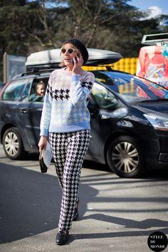 Svetlana Taccori Street Style Street Fashion Streetsnaps by STYLEDUMONDE Street Style Fashion Blog