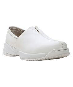 White Mya Leather Loafer