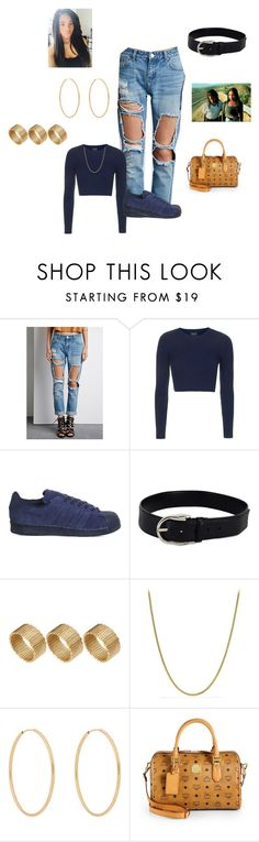 """""""Poetic Justice"""" by babygirlswagg23 ❤ liked on Polyvore featuring Forever 21, Topshop, adidas, Gucci, ASOS, Poetic Justice, David Yurman, Loren Stewart and MCM"""