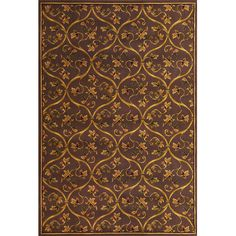 140 Kas Rugs Corinthian Plum Vine Brocade Area Rug Reviews Wayfair