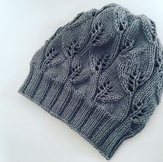 Ravelry: The Leafy Beanie pattern by The Knitting Me