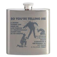 Zombie Jezabub Flask