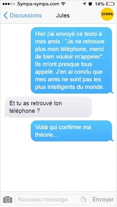 20 sms that prove that stupidity has become genetic in being human . 20 sms qui prouvent que la bêtise est devenue génétique chez l& huma… 20 sms that prove that stupidity has become genetic in humans (page Funny Facts, Funny Jokes, Hilarious, Random Facts, Rage, Minions, Mind Blowing Facts, Lol, Funny Messages