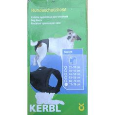 Kerbl Luxury Pants Size 5 Black 71 to 78 CM Stretch Protection Against Pregnancy Listing in the Clothing,Dogs,Pets,Home & Garden Category on eBid United Kingdom | 144358657
