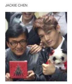 OMG but the fact that he's doing a movie in China with Tao right now like what are the chances? awk