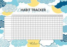 Bullet Journal Mood Tracker, Bullet Journal Travel, Bullet Journal Spread, To Do Lists Printable, Printable Planner, Planner Stickers, College Planner, Calendar Wallpaper, Planner Book