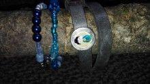 Set 3 items,1 real leather. € 17,50 ex shipping landhofschober@hotmail.com Real Leather, Bracelets, Jewelry, Armband, Bangles, Jewlery, Jewels, Bracelet, Jewerly