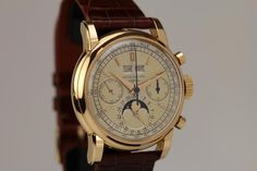 Anyone have 3.2 million dollars??? 1955 Grail Patek Philippe Watch 18K Rose Gold Ref 2499 Second Series For Sale