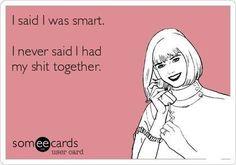 True story! Lol!