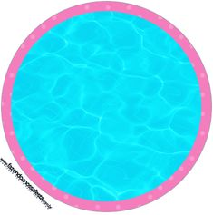 Toppers para Docinhos Pool Party Menina